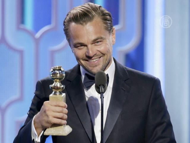 В Голливуде раздали «Золотые глобусы»