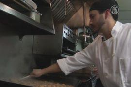 Элитные рестораны в США кормят бездомных