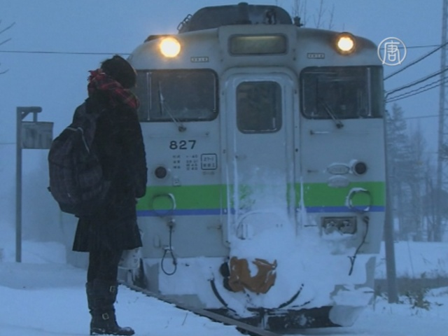 Япония: ж/д-станция работает ради одной пассажирки