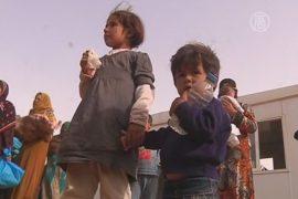 16 тысяч беженцев скопились на границе с Иорданией