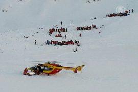 Лавина накрыла школьников во французских Альпах