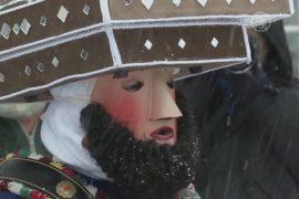 Швейцария: люди в масках прогоняют нечисть