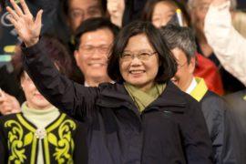 В Тайване президентом стала лидер оппозиции