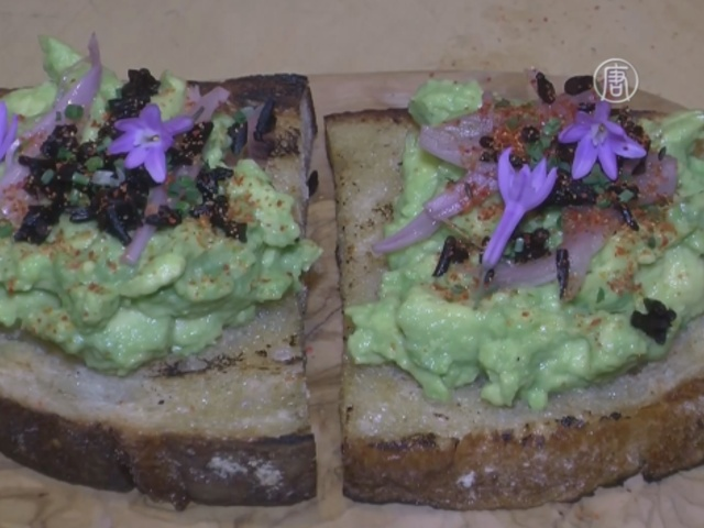 Авокадо и водоросли: креативные тосты в Калифорнии