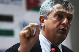 Новый глава УВКБ ООН навестил беженцев в Заатари