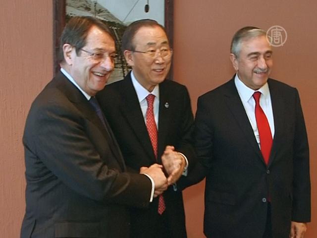 Давос: символическое рукопожатие «двух Кипров»