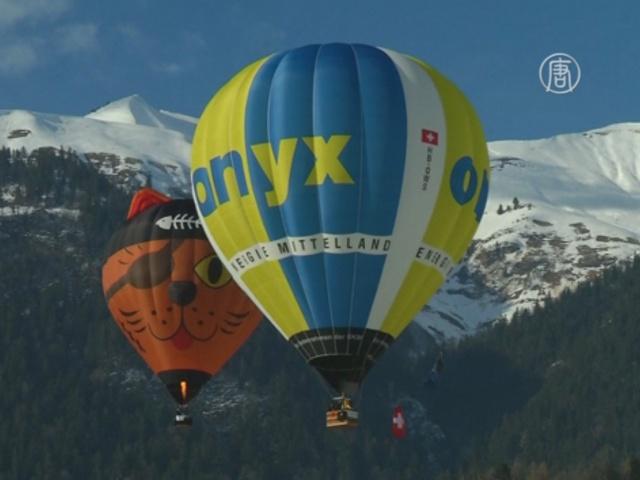 Швейцария: Международный фестиваль воздушных шаров
