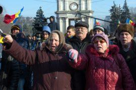 Молдова: протестующие перекрыли въезд в Кишинёв