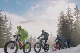 В Альпах прошёл турнир горных велосипедистов
