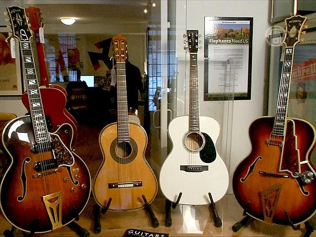 Коллекция уникальных гитар уйдёт с молотка