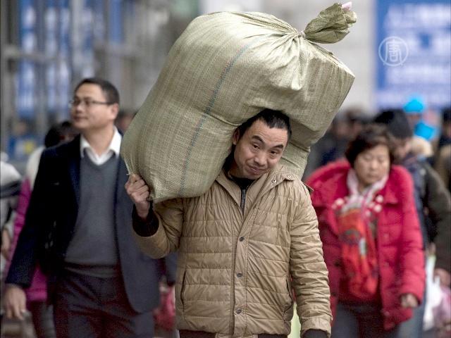 В Китае началась массовая праздничная миграция