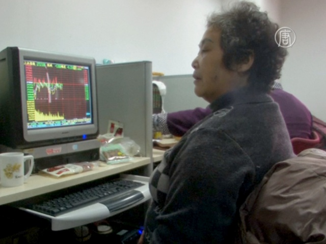 Пенсионеры-инвесторы в КНР терпят убытки