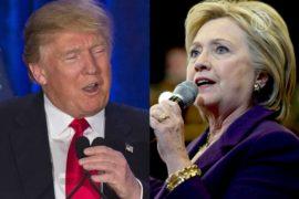 Праймериз в США: Трамп — второй, Клинтон — первая