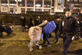 В Париже эвакуировали крупный цыганский лагерь
