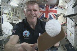 Астронавт на борту МКС ответил на вопросы детей
