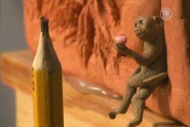 Самую микроскопичную обезьяну сделали на Тайване