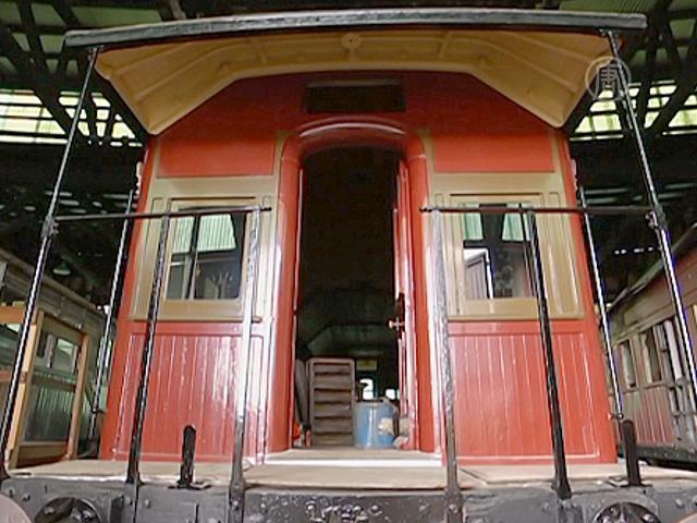 Волонтёры в Австралии восстанавливают поезда