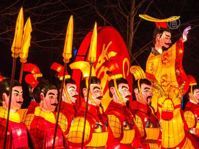 Китайские фонари впечатляют лондонцев