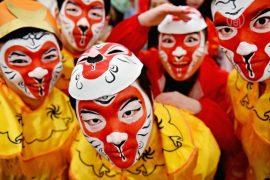 Китайцы отметили Новый год обезьяны