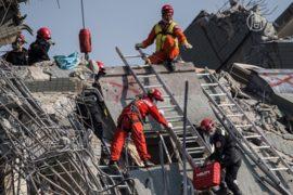Число жертв землетрясения в Тайване растёт