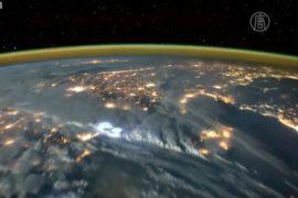 Завораживающие кадры молний сняли из космоса