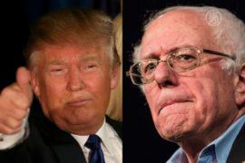 Праймериз в Нью-Гемпшире: победили Трамп и Сандерс