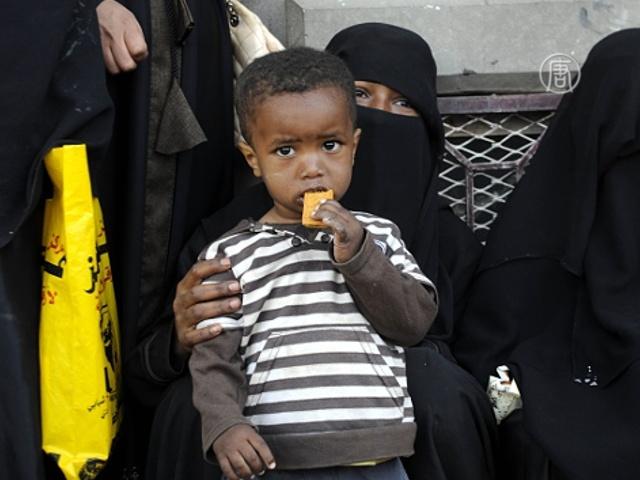 ЮНИСЕФ: в Йемене голодает всё больше детей
