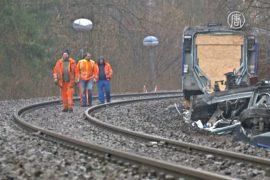 В крушении поездов в Баварии виноват диспетчер