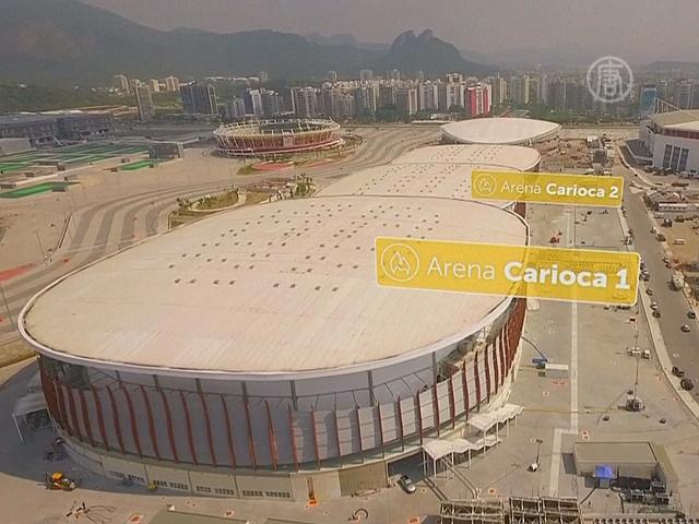 Олимпийские объекты Рио засняли с дрона