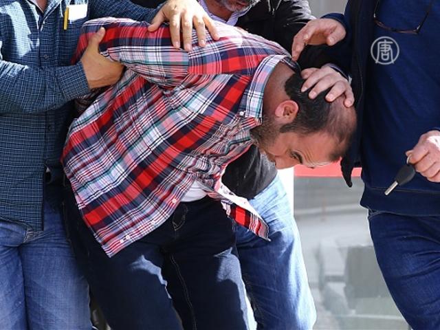 Анкара назвала предполагаемых зачинщиков теракта