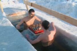 Екатеринбург: шахматный турнир в ледяной воде