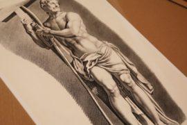 Выставка старинных гравюр в музее им. Пушкина
