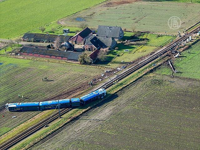 Крушение поезда в Нидерландах: погиб машинист