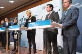 В Австрии обсудили путь мигрантов через Балканы