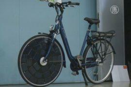 Нидерландцы изобрели новый «солнечный» велосипед