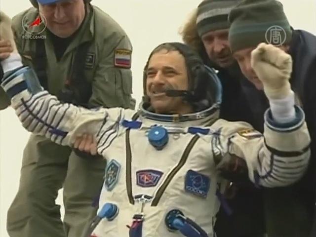 Келли и Корниенко вернулись с МКС