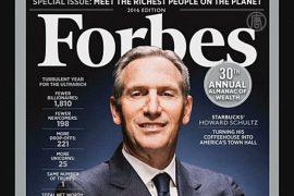 Forbes составил ежегодный список богачей