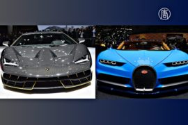Bugatti и Lamborghini представили новые гиперкары