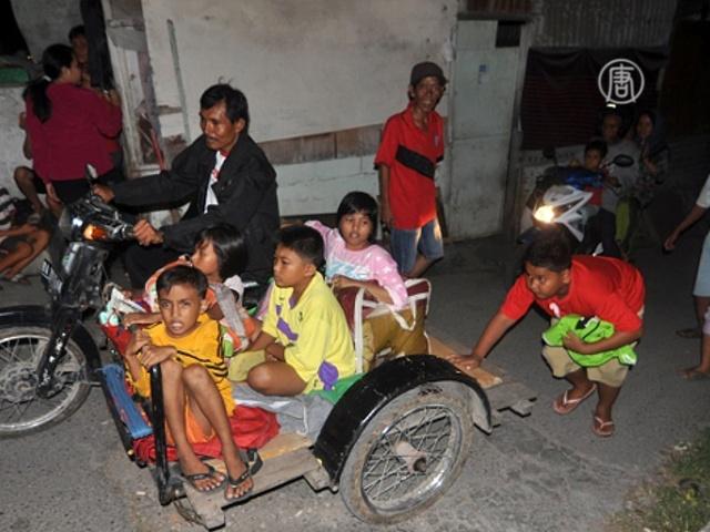 Землетрясение в Индонезии прошло без последствий