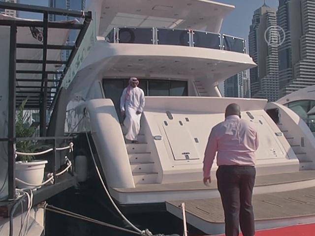 На Boat Show в Дубае представили 450 яхт и катеров