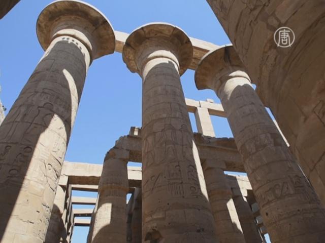 Древний Карнакский храм в Египте восстанавливают