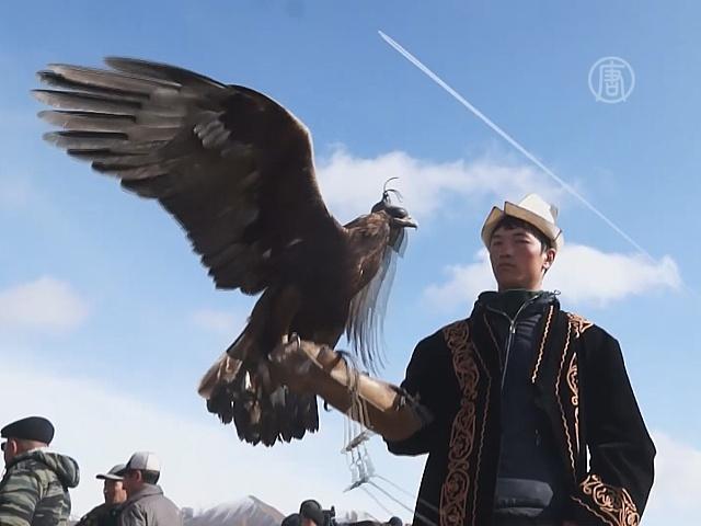 В Кыргызстане возрождают охоту с беркутами