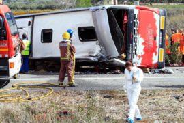 Смертоносное ДТП в Испании: погибло 13 студентов