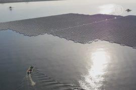 Лондон запустит плавучую солнечную электростанцию