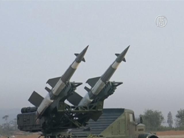 КНДР строит ракетный двигатель на твёрдом топливе