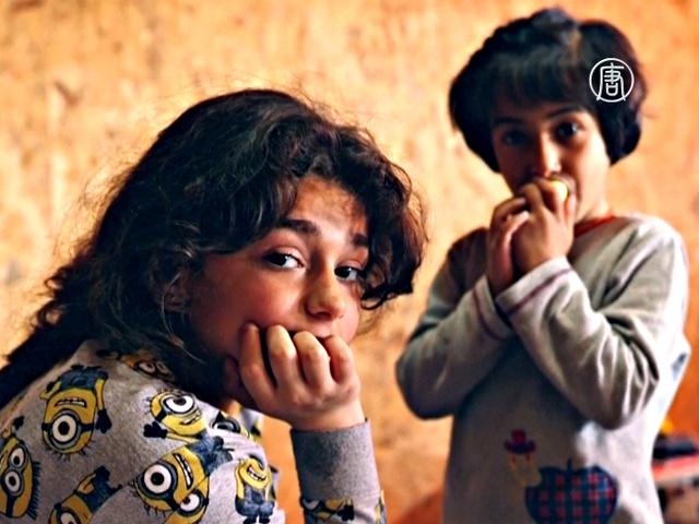 Семья греков приютила две семьи сирийцев