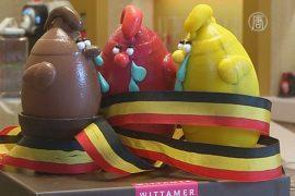 Брюссель: шоколад и Пасха несмотря на атаки
