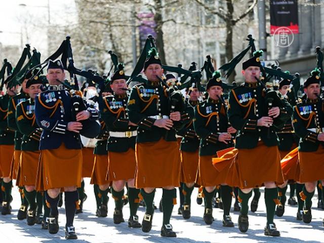 Ирландия отметила столетие Пасхального восстания