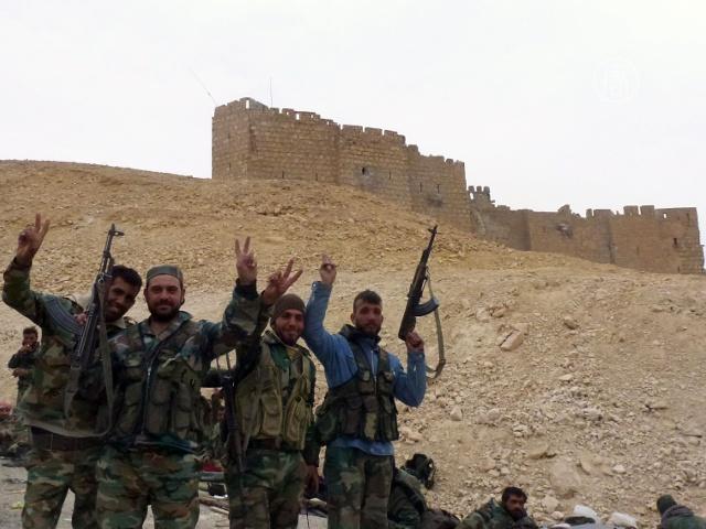 Боевиков ИГ выбили из Пальмиры