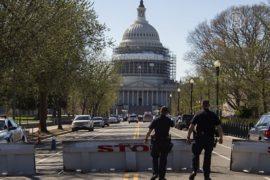 Стрельба у Капитолия: нападавшего ранили